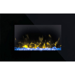Dimplex Dimplex Toluca Wall Mounted Electric Fire  - 77674 - from Toolstation