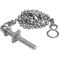 "Chain 18"" Ball Stay & Hooks - 77678 - from Toolstation"