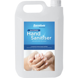 Barrettine Barrettine Hand Sanitiser 5L - 77777 - from Toolstation