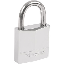 Master Lock Master Lock Marine Grade Nickel Plated Brass Padlock 30 x 5 x 17mm - 77933 - from Toolstation