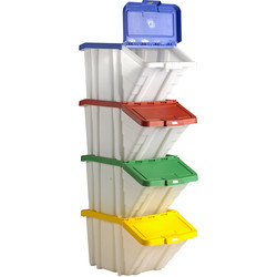 Barton Robust 50L Storage Bins 345 x 400 x 635mm - 77935 - from Toolstation