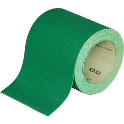 Norton Aluminium Oxide Green Sanding Roll 115mm x 10m 80 Grit - 77944 - from Toolstation