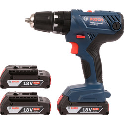 Bosch Bosch GSB 18V-21 18V Li-Ion Combi Drill 3 x 2.0Ah - 77945 - from Toolstation