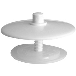 Bath Overflow Stopper White - 78109 - from Toolstation