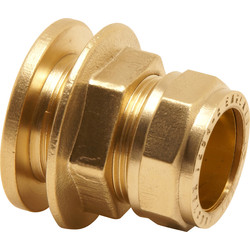 Pegler Yorkshire Pegler Prestex Compression Flanged Tank Connector 15mm - 78180 - from Toolstation