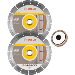 Bosch Bosch General Purpose Diamond Blade 230 x 22.23mm - 78226 - from Toolstation