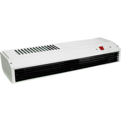 Eterna 3kW Screen Heater White Powder Coated - 78313 - from Toolstation