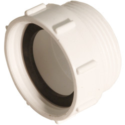 "McAlpine McAlpine BSP Coupling Flush Spigot 1 1/2"" - 78320 - from Toolstation"