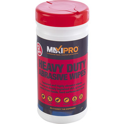 Maxipro Heavy Duty Abrasive Wipes 80 Wipes - 78341 - from Toolstation