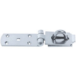 Stainless Steel Hasp & Staple 150mm - 78417 - from Toolstation