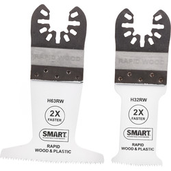 Smart Smart Multi Cutter Rapid Wood Blade Set  - 78425 - from Toolstation