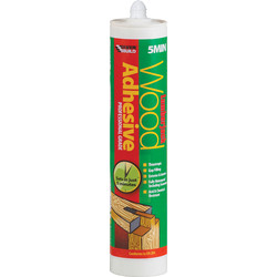 Everbuild 5 Minute Polyurethane Wood Adhesive Gel 310ml - 78519 - from Toolstation