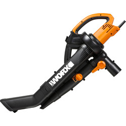 Worx Worx WG505E 3000W Electric Trivac 230V - 78532 - from Toolstation