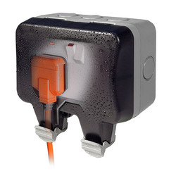 BG IP66 13A Switched Socket