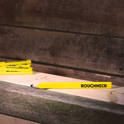 Roughneck Carpenter's Pencils With Sharpener