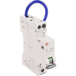 Wylex Wylex Mini RCBO 6A 30Ma Type A - 78612 - from Toolstation