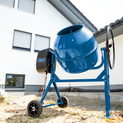 Scheppach MIX160 650W 160L Concrete Mixer