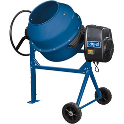 Scheppach Scheppach MIX160 650W 160L Concrete Mixer 230V - 78649 - from Toolstation