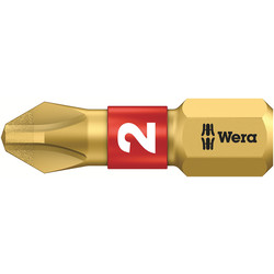 Wera Wera BiTorsion Diamond 25mm Bit Phillips 2 x 25mm - 78721 - from Toolstation