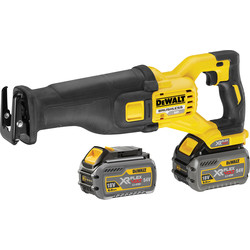 DeWalt DCS388 54V XR FlexVolt Recip Saw 2 x 6.0Ah