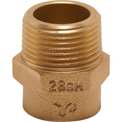"Pegler Yorkshire Pegler Yorkshire Male Coupling 15mm x 1/2"" - 78835 - from Toolstation"