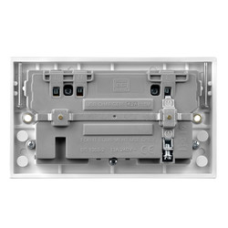 BG 13A Low Profile SP A & C Type USB Switched Socket