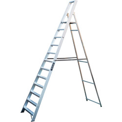 TB Davies TB Davies Industrial Platform Step Ladder 12 Tread SWH 4.2m - 78852 - from Toolstation