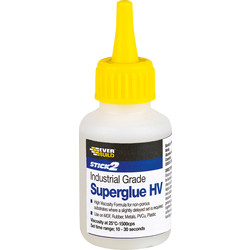 Everbuild Superglue 20g High Visc - Thick - 78871 - from Toolstation