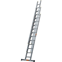 TB Davies TB Davies Pro Trade Triple Extension Ladder 3.0m - 78957 - from Toolstation