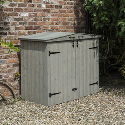 Rowlinson Rowlinson Heritage Apex Bin Store 130cm (h) x 153cm (w) x 81cm (d) - 79023 - from Toolstation