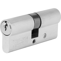ERA ERA BS 1 Star Euro Cylinder Satin Nickel 35:35 - 79040 - from Toolstation