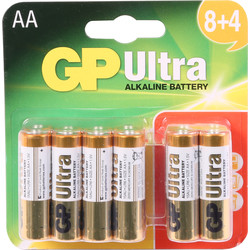 GP batteries GP Ultra Alkaline Battery AA - 79137 - from Toolstation