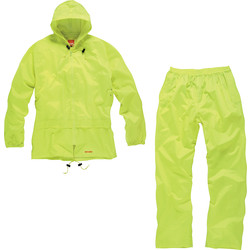 Scruffs Scruffs 2 Piece Rainsuit X Large Yellow - 79233 - from Toolstation