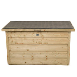 Forest Garden Pressure Treated Garden Storage Box