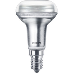 Philips Philips LED Reflector Dimmable Lamp R50 4.3W SES (E14) 320lm - 79294 - from Toolstation