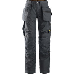 "Snickers Workwear Snickers AllroundWork Women's Trousers 28"" R - 79558 - from Toolstation"