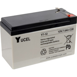Sealed Lead Acid Battery 12V 7Ah 151 x 65 x 101mm - 79562 - from Toolstation