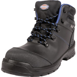 Dickies Dickies Cameron Waterproof Safety Boots Black Size 10 - 79600 - from Toolstation