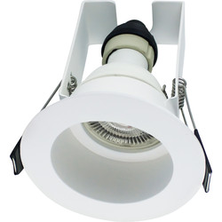 Integral LED Integral LED Recessed Evofire IP65 Fire Rated Downlight White with Insulation Guard - 79686 - from Toolstation