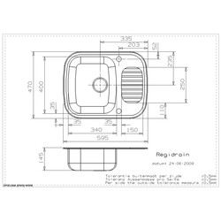 Reginox Reversible Stainless Steel Compact Kitchen Sink & Drainer