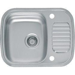 Reginox Reginox Stainless Steel Compact Single Bowl Kitchen Sink & Drainer  - 79782 - from Toolstation