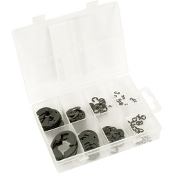 Silverline E Clip Pack  - 79787 - from Toolstation