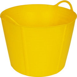 Flexi Tub 40L Yellow - 79794 - from Toolstation