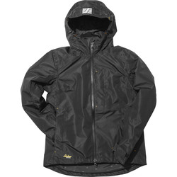 Snickers Workwear Women's AllroundWork Waterproof Shell Jacket Small Black - 79804 - from Toolstation