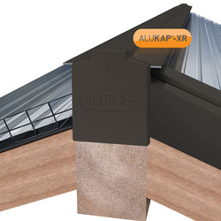 Alukap-XR Concealed Fix Hip Bar with Gasket
