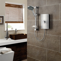 Triton Collection ll Electric Shower Brushed Steel