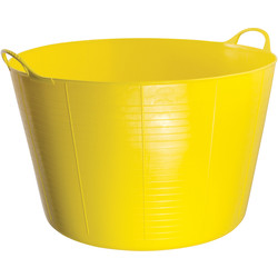 Red Gorilla Red Gorilla Flexi Tub 75L Yellow - 79997 - from Toolstation