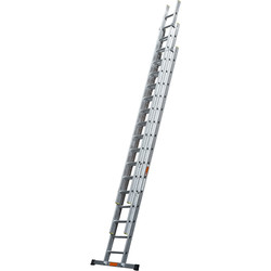 TB Davies TB Davies Pro Trade Triple Extension Ladder 4.0m - 80001 - from Toolstation