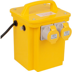 110V Tool Transformer 3kVA 2 x 16A Outlets - 80013 - from Toolstation
