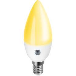 Hive Hive Active Light Dimmable Smart LED Candle Bulb 5.3W SES (E14) 470lm - 80074 - from Toolstation